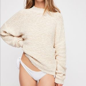 Free people NWT modern marled sweater size small